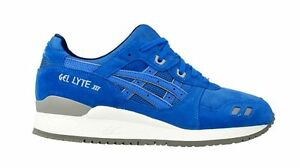 pretty nice 5f7f4 9bc29 Details about Asics GEL-LYTE 3 III (Mid Blue) PUDDLE PACK SUEDE  [H5U3L-4242] Running Mens