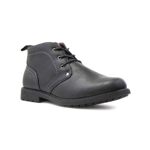 Sizes 6,7,8,9,10,11,12 Beckett Mens Black Ankle Lace Up Boot