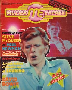 MAGAZINE-MUZIEK-EXPRES-APRIL-1975-DAVID-BOWIE-STATUS-QUO-GOLDEN-EARRING-ELO