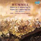 """Hummel: Septet in D minor, Op. 74; Septet in C major, Op. 114 """"The Military"""" (2016)"""