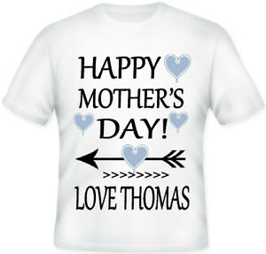 8858d544 Image is loading HAPPY-MOTHERS-DAY-MUM-MUMMY-GIRLS-PERSONALISED-KIDS-