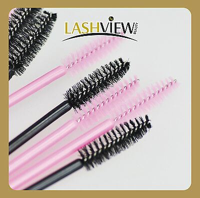 Disposable Mascara Wands Applicator for Eyelash Extensions x 50 100 200 pcs