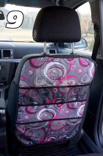 Autositztasche  Rückenlehnenschutz Sitzschoner Auto Organizer 9