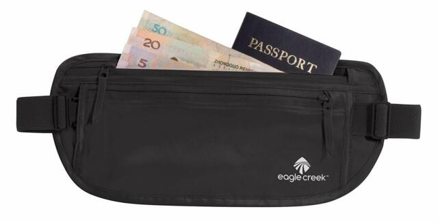 Black Eagle Creek Travel Gear EC-41123010 Eagle Creek Silk Undercover Money Belt
