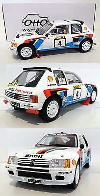 Ottomodels Ottomobile Otto 1/18 Peugeot 205 T16 rallye 1000 Lakes 1984