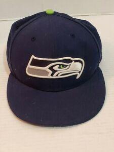Seattle-Sea-Hawks-Ball-Cap-Hat-Adult-One-Size-New-Era-NFL-Football