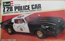 Z28 CAMARO POLICE CAR HIGHWAY PATROL REVELL 7210 1:25 1980 Issue