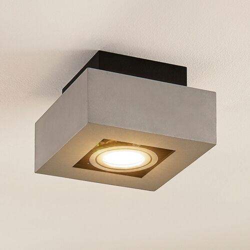 LED Deckenleuchte Deckenlampe Vince Aluminium GU10 LED Wohnzimmerlampe