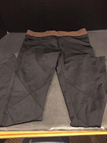 Olympia Activewear Full Length Black Leggings Size