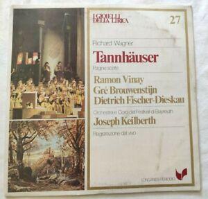 TANNHAUSER-RICHARD-WAGNER-LP-RAMON-VINAJ-BROUWENSTIJN-VINYL-ITALY-1981-NM-NM
