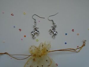 UNICORN-EARRINGS-SENT-IN-ORGANZA-BAG-WITH-SPARKLES-EAR-RINGS-UNICORNS-GIFT-GIFTS