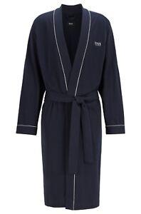 Hugo Boss Bademantel : hugo boss herren kimono jersey baumwolle bademantel marineblau ebay ~ A.2002-acura-tl-radio.info Haus und Dekorationen