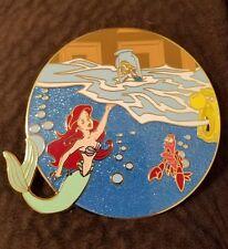 Disney pins fantasy pin little mermaid.meets alice in wonderland