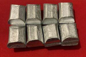 8 X 120 Grams Zinc Bar Set - Lingot Swiss