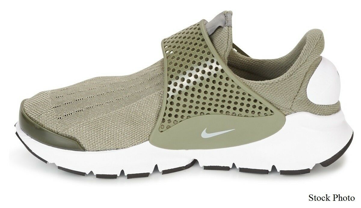 Nike Nike Nike Sock Dart Running shoesWomens 11Palm Green WhiteNEW848475-005 855d6e