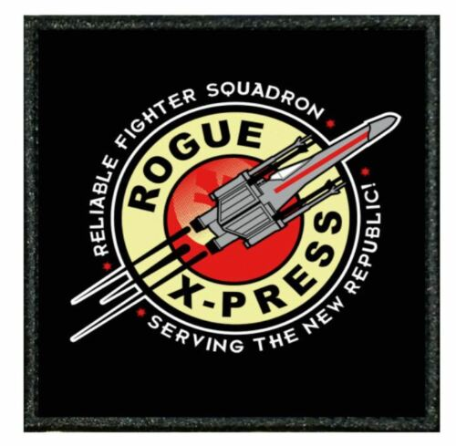 "MOVIE patch from our /""TIV/"" Range STAR WARS X-WING ROGUE EXPRESS 037A TV"
