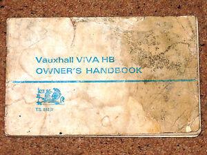 vauxhall cavalier wiring diagram vauxhall viva hb original handbook 1967 - includes wiring ...