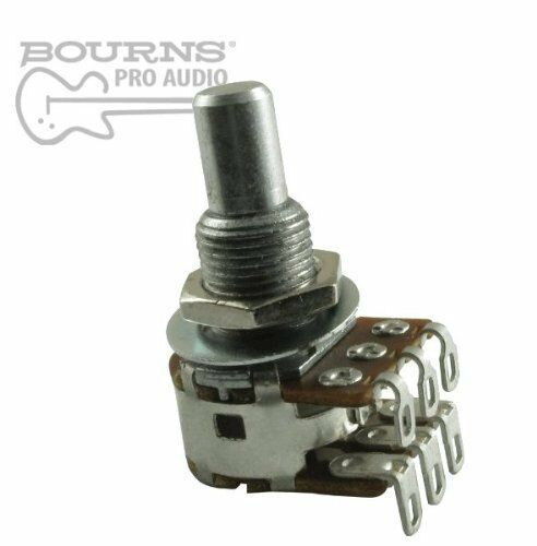 Bourns Mini Blend-Balance Guitar Potentiometer Center... 500K Dual MN Taper