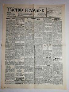 N1103-La-Une-Du-Journal-L-039-action-francaise-31-Janvier-1933-la-politique