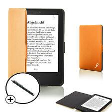 Forefront Hülle Orange Shell Smart Schutzhülle Tolino Vision 4 HD Stift
