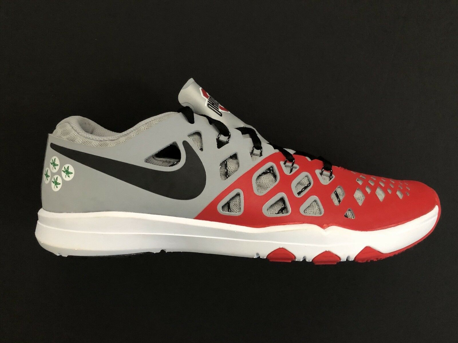 Nike Ohio State Buckeyes Buckeyes State Train Speed 4 Amp College Shoes 844102-603 Size 9.5 ad438d