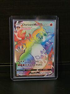 Charizard VMAX Rainbow Rare Pokemon Champions Path Hyper 074/073 (PSA 10!?!)