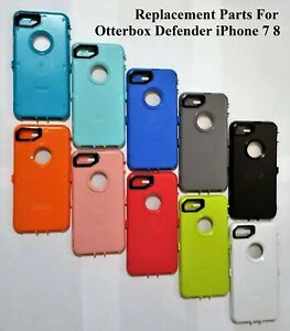 new product c631f fb6db Details about iPhone 7 8 For OtterBox Defender Case Replacement Inner  Plastic Shell+Screen