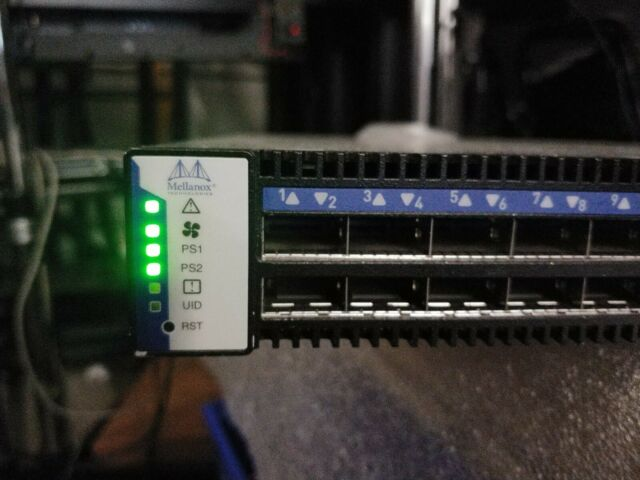 Mellanox SX6025 36port Unmanaged 56Gb/s FDR Infiniband Switch 674863-001 670767-