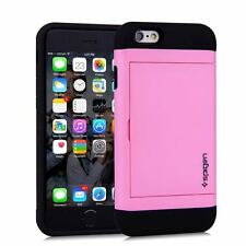 Slide Case Slim Armor CS Credit Card Slot Wallet Cash Apple iPhone 6 S Plus 7