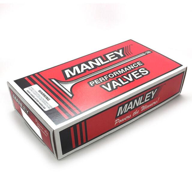 "Manley Intake Valve Set 11246-8; Gen II Race Master 48.00mm x 4.800/"" Stainless"