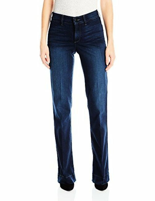 NYDJ Womens Collection Teresa Modern Trouser Jeans in Future Fit