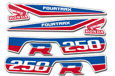 AMR Racing Honda TRX250R Fourtrax OEM Graphic Kit Quad Decal ATV Stickers USA