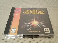 1997 STAR WARS X-WING VS TIE FIGHTER PC VIDEO GAME ORIGINAL JEWEL CASE