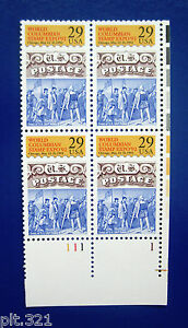 Sc-2616-Plate-Block-29-cent-World-Columbian-Stamp-Expo-Issue-bc1