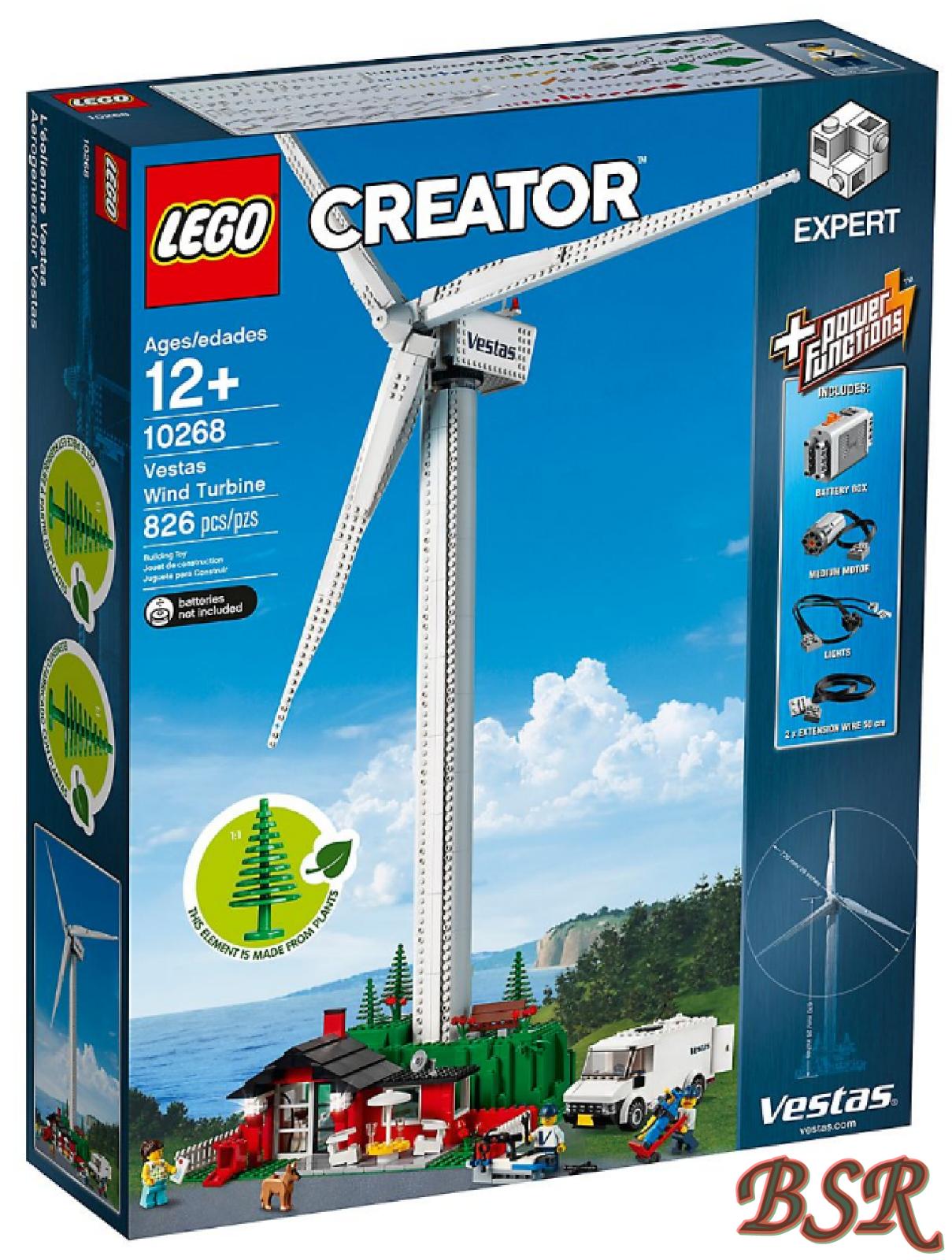 LEGO ® Creator Expert   10268 Vestas  mulini a vento & 0.  Spedizione & NUOVO & OVP  contatore genuino