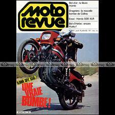 MOTO REVUE N°2567 KAWASAKI GPZ 550, HONDA 500 XR XLR, DRAGSTER RUSS COLLINS 1982