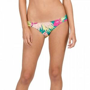 9263f1dd96 Image is loading Bikini-Hot-Tropic-Modest-Volcom-Turquoise-Women