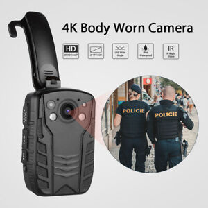 4K-HD-1296P-Body-Worn-Camera-Pocket-Camcorder-Waterproof-Recorder-Mini-DVR-LCD