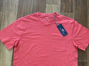NEW-WITH-TAGS-Mens-Vineyard-Vines-Solid-Color-Pocket-T-Shirt-Size-S-M-L-Shirt