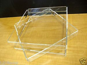 3-Acrylic-Trays-Pastry-Bakery-Donut-CUPCAKE-Stand-Display-Case