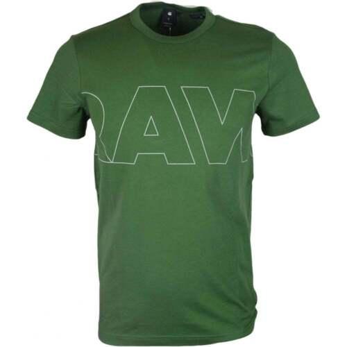 G-Star RC Kremen Compact Jersey Regular Fit Green T-Shirt