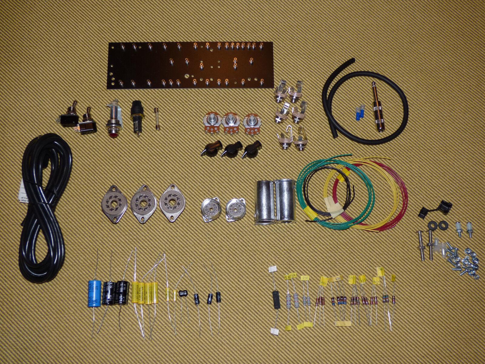 Amplificador De Guitarra 5E3 Tweed DELUXE Kit de de de piezas, Switchcraft, Mallory, carbono Comp  aquí tiene la última