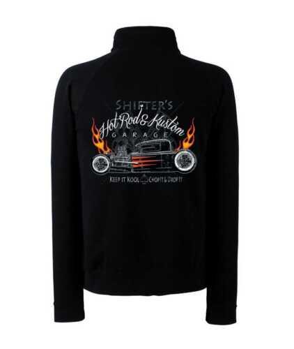 /&/' 50 style Motif Modèle métamorphes /'s Veste sweat-shirt avec un hot rod- us car