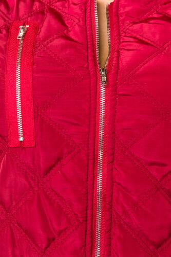 Trapuntata Rosso Sexy 42 Glamour 40 S xl 44 Taglia Giubbino nera l Giacca 46 m gwwqtxT5