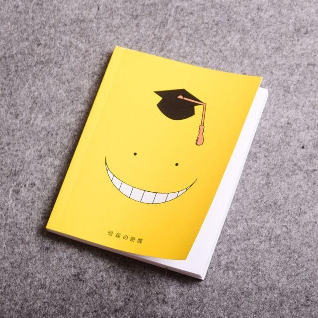 Hot Anime Assassination Classroom  Notebook Korosensei Cute Face Diary Book