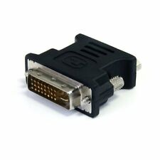 Startech.com Dvi To Vga Cable Adapter - Black - M/f - Dvi-i (dual-link) Male
