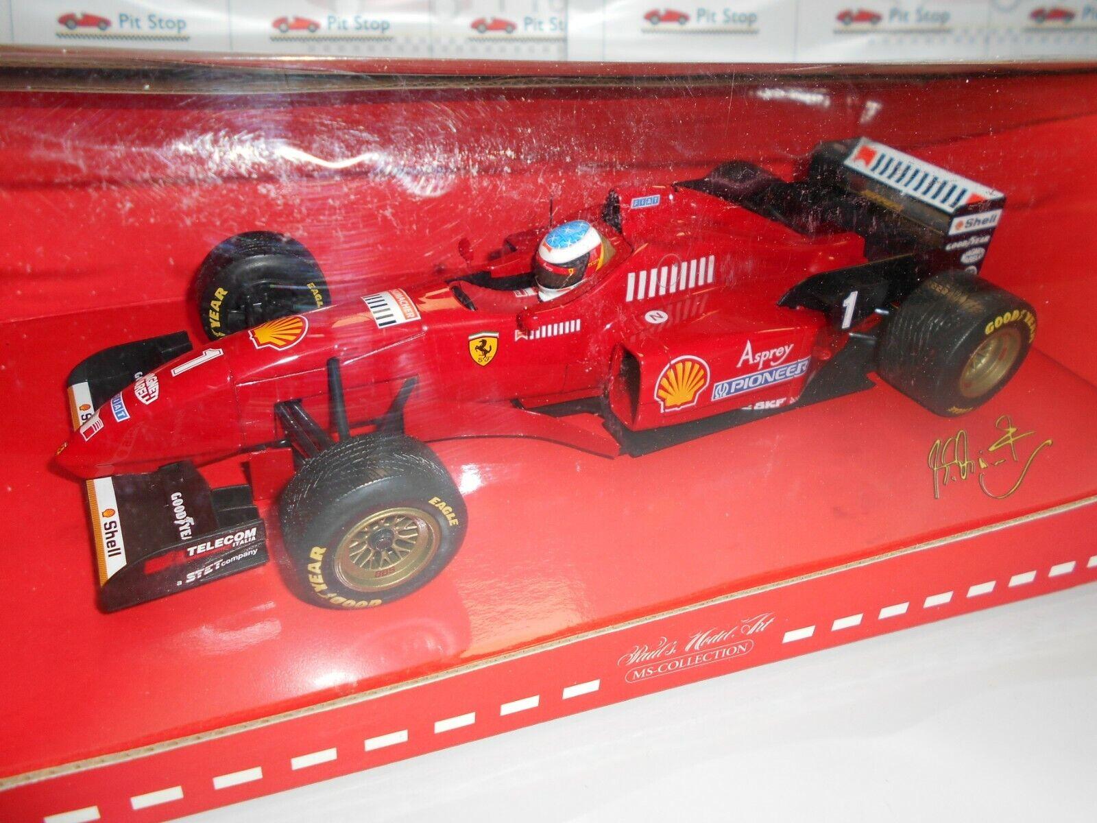 Min510961801a Ferrari 412 t3 v10 M. Schumacher 1st Win in Ferrari 1996 1 18