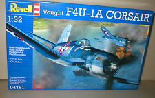 Revell F4U-1D CORSAIR United States NAVY with PILOT figure 1/32nd scale