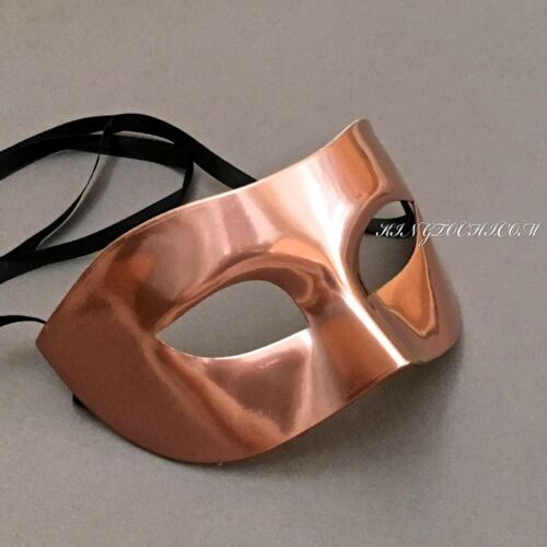 New Metallic Color Masquerade Prom Costume Party Handmade Masks