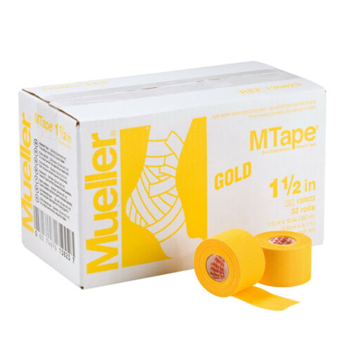 """Mueller M Tape Color 1.5/"""" x 10 yd High Tensile Strength w// Excellent Tackiness"""